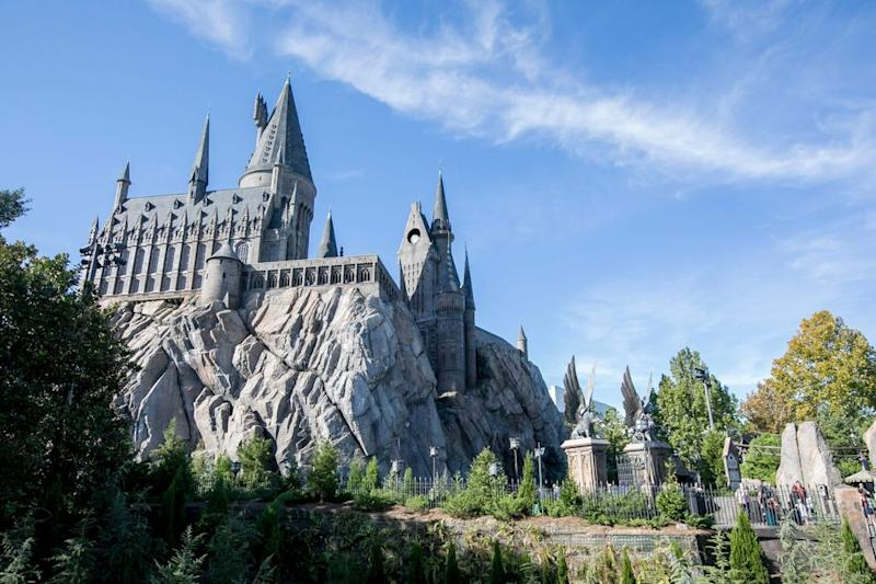 """The Wizarding World of Harry Potter is an obvious destination for """"Harry Potter"""" fans. The theme park has locations in Orlando, Los Angeles and Japan, where visitors can feast on the treats mentioned in the books, enjoy fun rides, watch magical performances and more."""