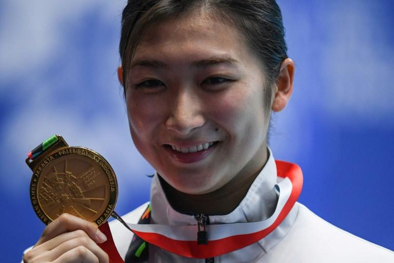 Japanese swimmer Rikako Ikee is set to be the face of the Tokyo 2020 Olympics