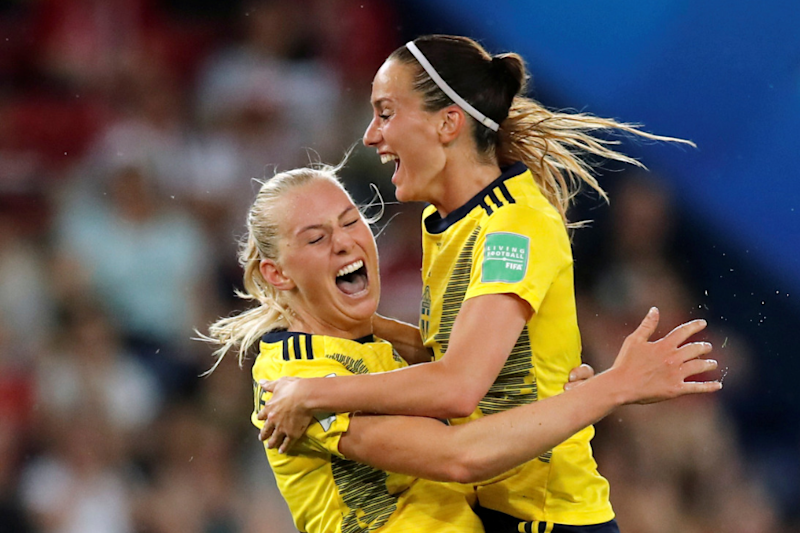 Blackstenius Gives Sweden Entry to Quarter Finals After World Cup Victory Over Canada