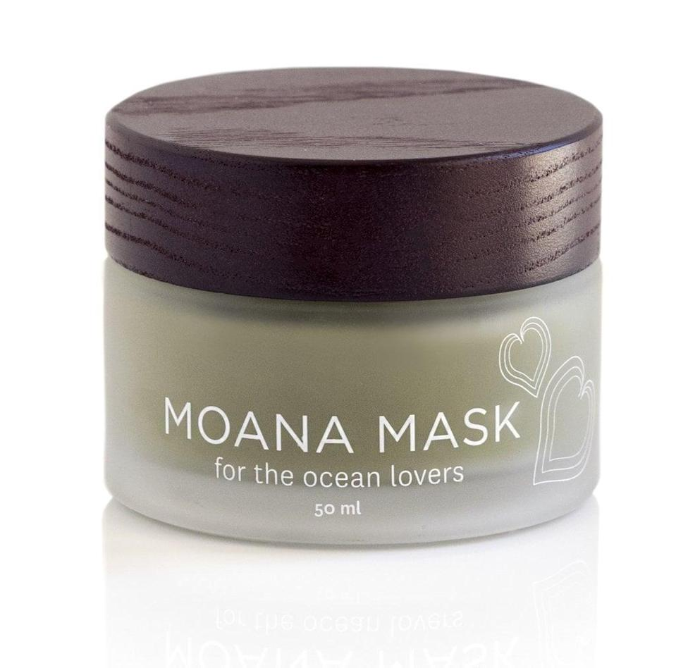 <p><span>Honua Moana Mask</span> ($38) combines powerful ingredients, such as Limu Ko'a or Hawaiian Spirulina, a blue green algae that is high in antioxidants and will help heal the skin after a day out in the sun. Plus, the name is <em>really</em> cute.</p>