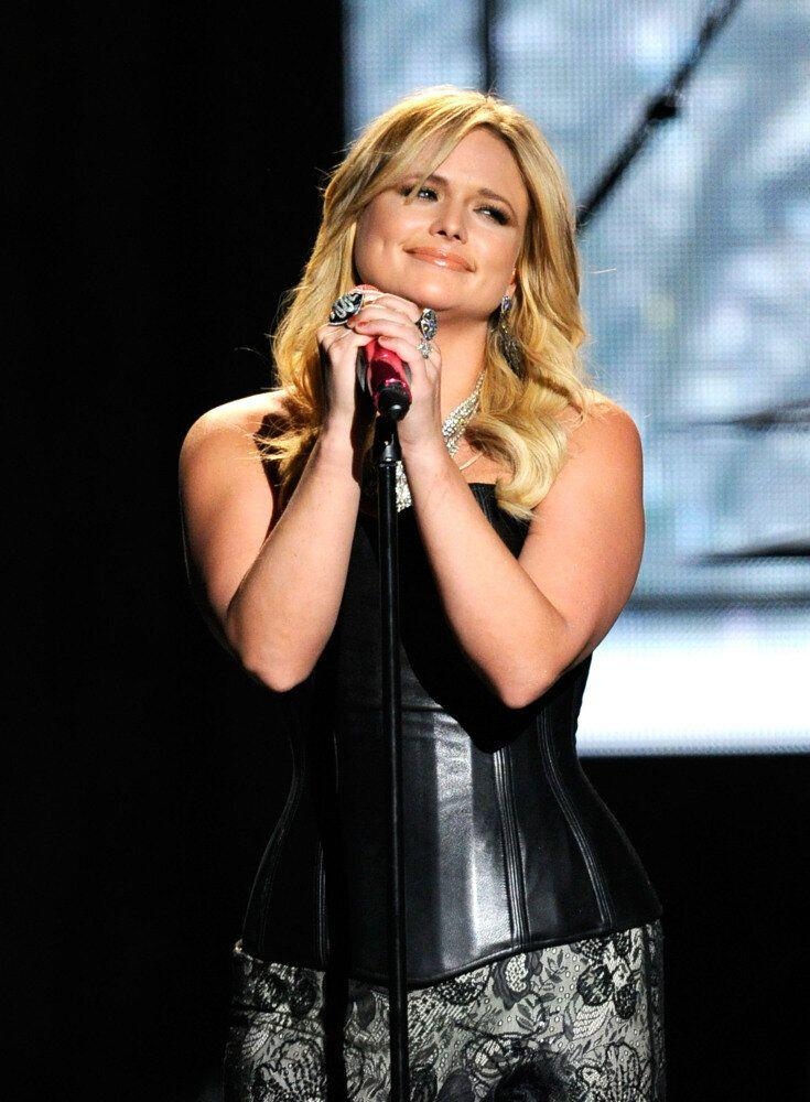 Singer Miranda Lambert performs onstage at the 47th Annual Academy Of Country Music Awards held at the MGM Grand Garden Arena on April 1, 2012 in Las Vegas, Nevada. (Ethan Miller, Getty Images)