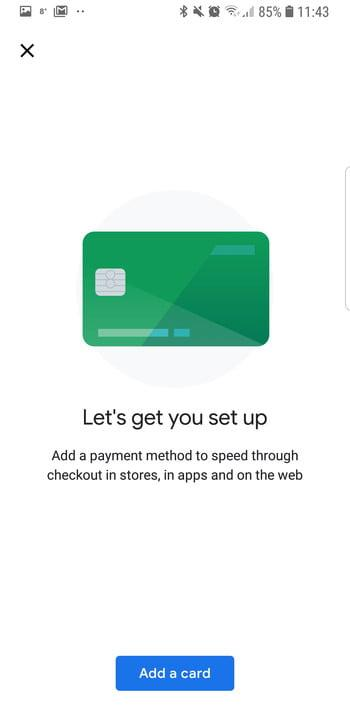 how to use google pay set up 3