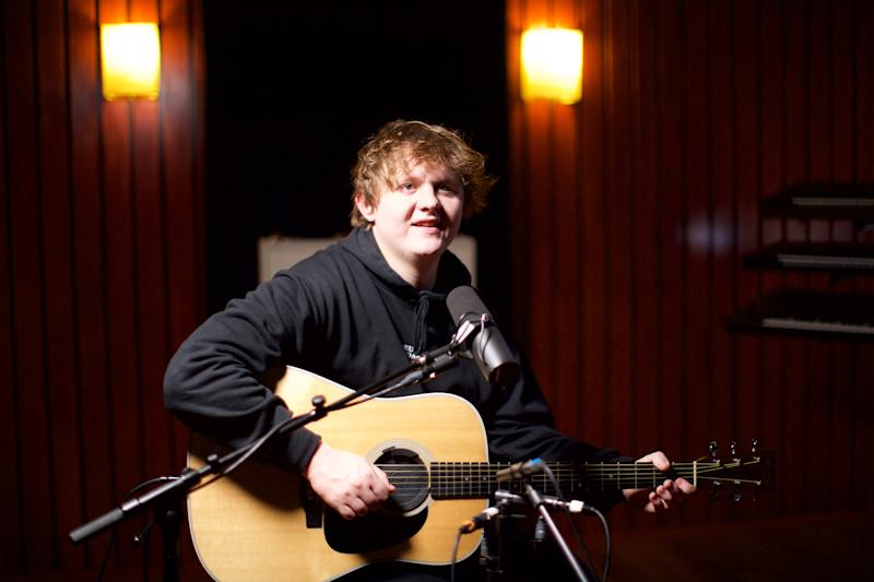 Lewis Capaldi put his own take on Setting Sun by The Chemical Brothers for the YouTube Original. (Joss Crowley)