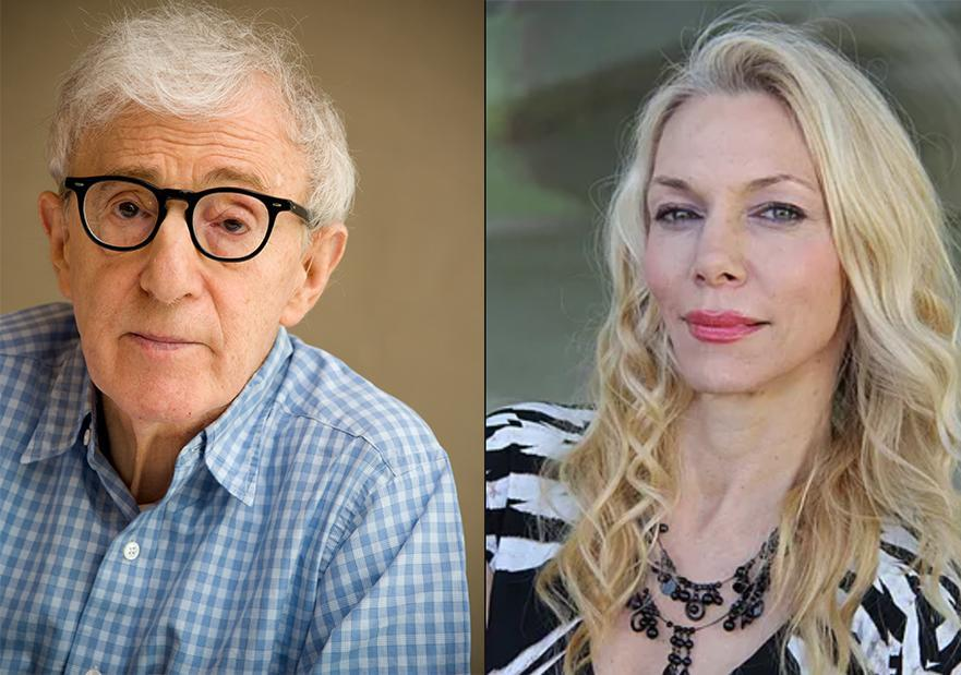 Christina Engelhardt says that in 1976, when she was 16, she began a romantic relationship with Woody Allen. (Photos: Getty Images, christinaengelhardt.com)
