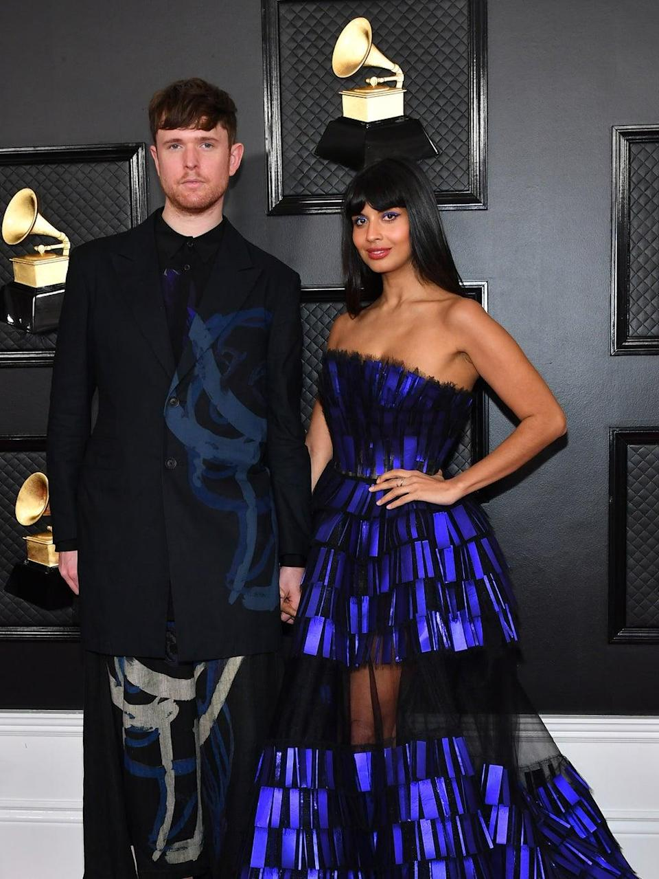 Blake and Jamil at the Grammy Awards, January 2020 (Getty Images)