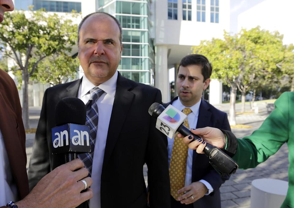 Bart Hernandez was found guilty in a Miami court Wednesday. (AP)