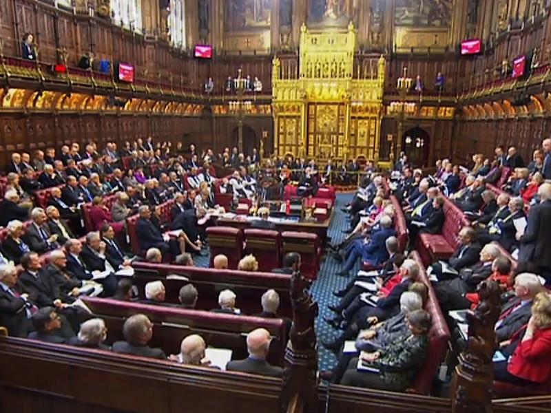 The House of Lords will debate a 'regret motion' later this month: Getty
