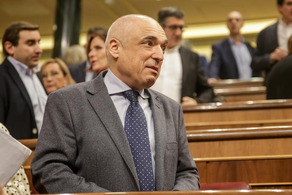 Rafael Simancas en el Congreso. (Photo by Europa Press News/Europa Press via Getty Images)