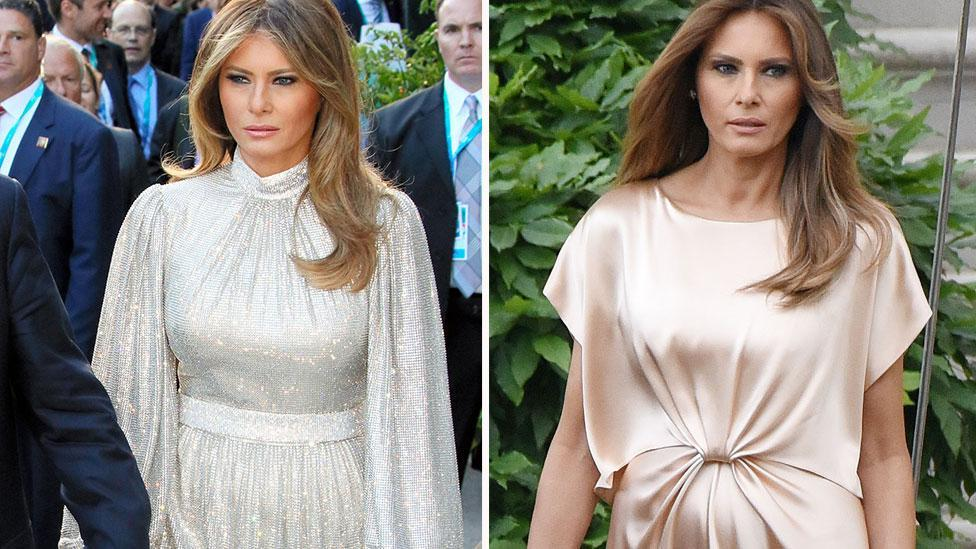 Melania's most expensive outfits