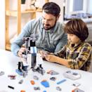 <p>The <span>STEM Remote Control Robot</span> ($30) will teach them new skills and it makes for a fun group activity.</p>