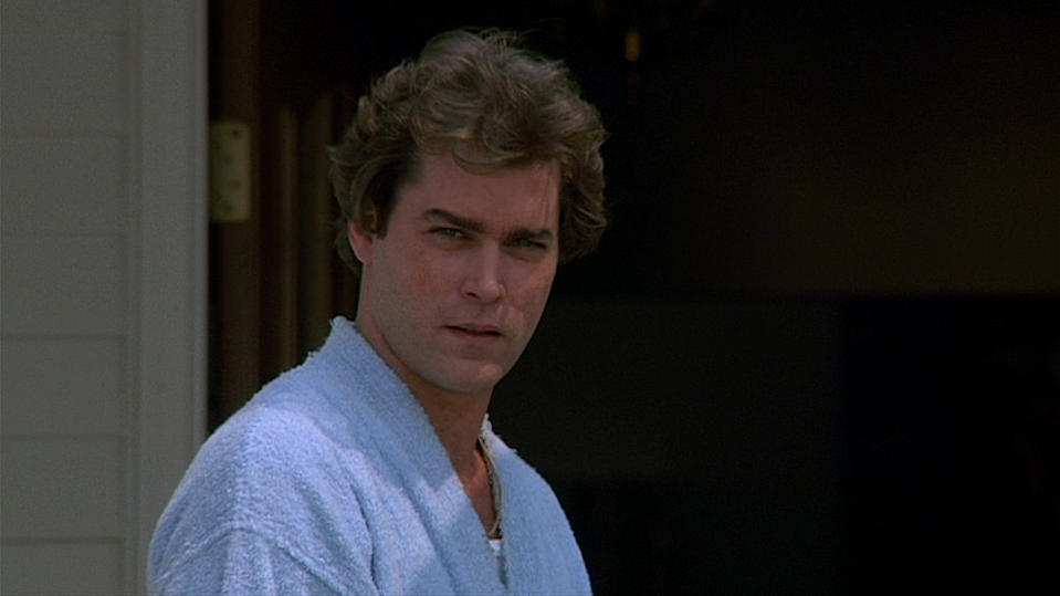 Ray Liotta as Henry Hill in the final scene of 'Goodfellas' (Credit: Warner Bros)