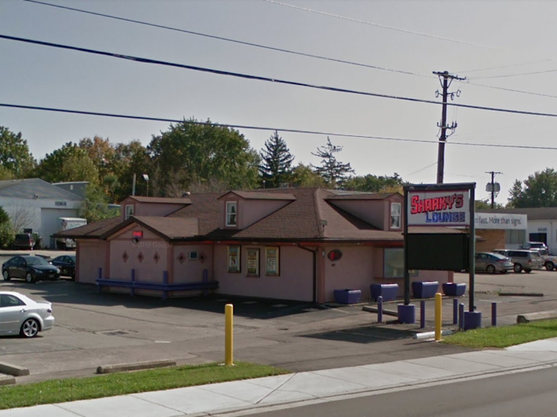 Sharkey's Lounge, where police were able to purchase methamphetamine with food stamps: Google