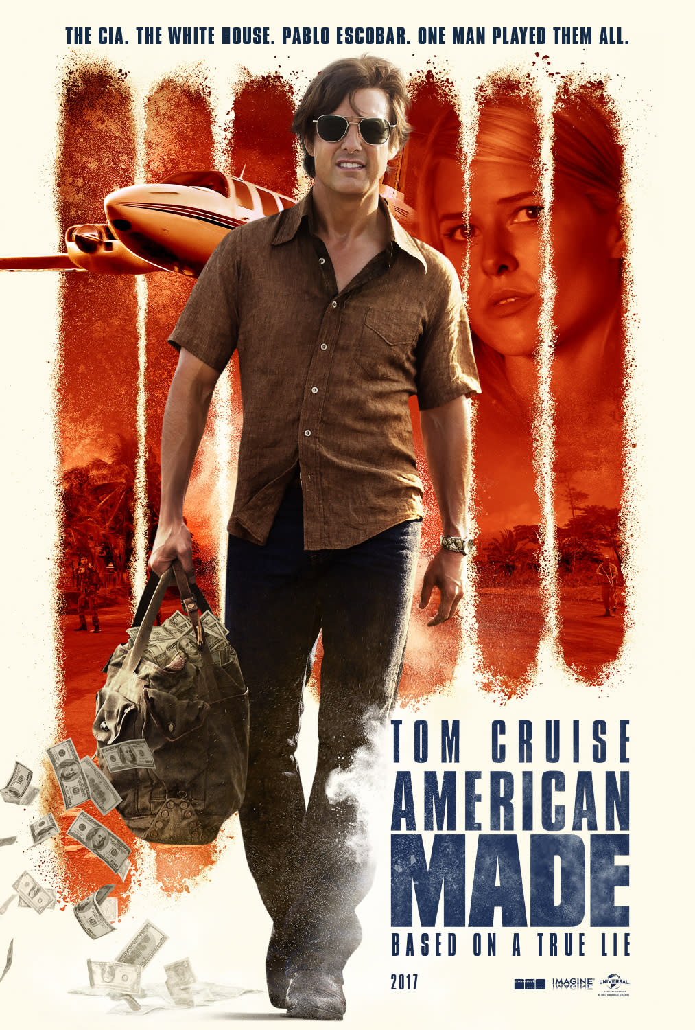 American Made official poster (Universal)