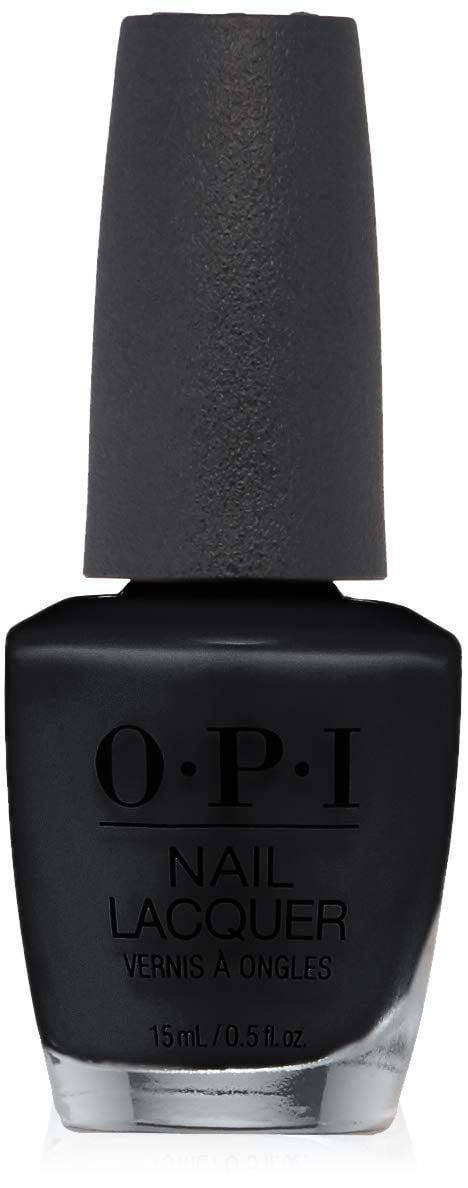 <p>Don't let anyone tell you to wear less black, and instead swipe on some <span>OPI Nail Lacquer in Black Onyx</span> ($7).</p>