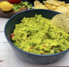 """<p>Guacamole is a straightforward dish that truly deserves all of the hype it is given. Coincidentally, it is also made from vegan ingredients and is served in a raw state. So grab your chips, and get to the dip. <br></p><p><a class=""""link rapid-noclick-resp"""" href=""""https://healthiersteps.com/recipe/vegan-guacamole/#ingredients"""" rel=""""nofollow noopener"""" target=""""_blank"""" data-ylk=""""slk:Get the recipe"""">Get the recipe</a></p><p><em>Per serving: 153 cal, 9 g fat, 13 g carbs, 2 g protein</em></p>"""