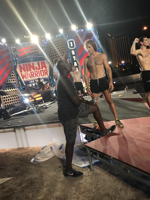 <p>The Man's got the moves, he's got the feels, and oh he's a pretty boss #NinjaWarrior. Nothing like hearing about the course first-hand from our #1 tester @IslandNinja — @akbar_gbaja </p>