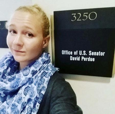 Reality Winner poses in a photo posted to her Instagram account
