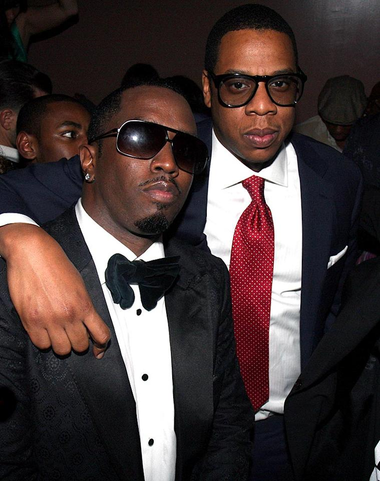 """Sean """"P. Diddy"""" Combs celebrates his 39th birthday -- and Barack Obama's victory -- at Mansion NYC in New York with friends like Jay-Z. Johnny Nunez/<a href=""""http://www.wireimage.com"""" target=""""new"""">WireImage.com</a> - November 5, 2008"""