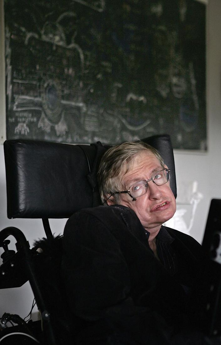 """""""Women. They are a complete mystery."""" -- Stephen Hawking's response when asked by <em>New Scientist</em> what he thinks about most during the day"""