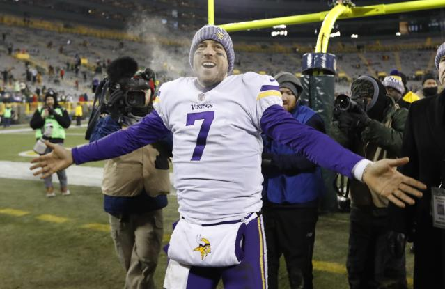 The Vikings will have a few advantages if they make it to the Super Bowl. (AP Photo)