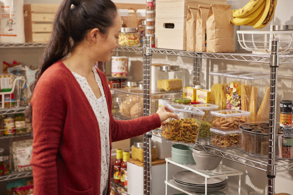 Pantry organization ideas from Canadian Tire