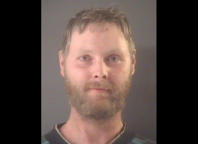 """Peterson plead guilty to bestiality and was sentenced in April, 2013 to between one and 15 years in prison f<a href=""""http://www.mlive.com/news/muskegon/index.ssf/2013/04/muskegon_mans_sex_with_dogs_br.html#incart_most-read"""" rel=""""nofollow noopener"""" target=""""_blank"""" data-ylk=""""slk:or having sex with two dogs."""" class=""""link rapid-noclick-resp"""">or having sex with two dogs.</a>"""