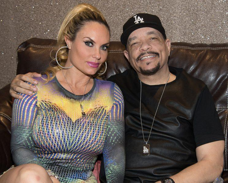 Coco and Ice-T attend Mount Airy Casino Resort on March 4, 2017 in Mount Pocono, Pennsylvania.