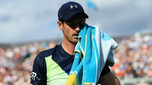 Andy Murray is not ruling anything out when asked if he will play in his home grand slam at Wimbledon.