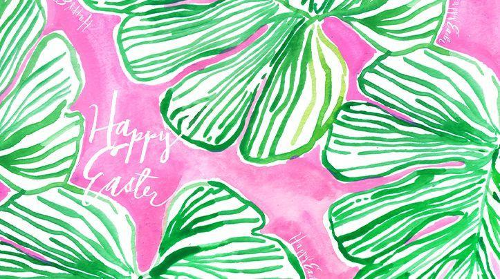 """<p>Offer well wishes with this cheery background in a classic Lilly Pulitzer print. </p><p><a class=""""link rapid-noclick-resp"""" href=""""https://go.redirectingat.com?id=74968X1596630&url=https%3A%2F%2Fwww.lillypulitzer.com%2Fresort365%2Fpopular%2Flillys-pulitzer-guide-to-the-sunniest-at-home-easter-celebration%2F&sref=https%3A%2F%2Fwww.goodhousekeeping.com%2Fholidays%2Feaster-ideas%2Fg35822780%2Feaster-zoom-backgrounds%2F"""" rel=""""nofollow noopener"""" target=""""_blank"""" data-ylk=""""slk:DOWNLOAD HERE"""">DOWNLOAD HERE</a></p>"""