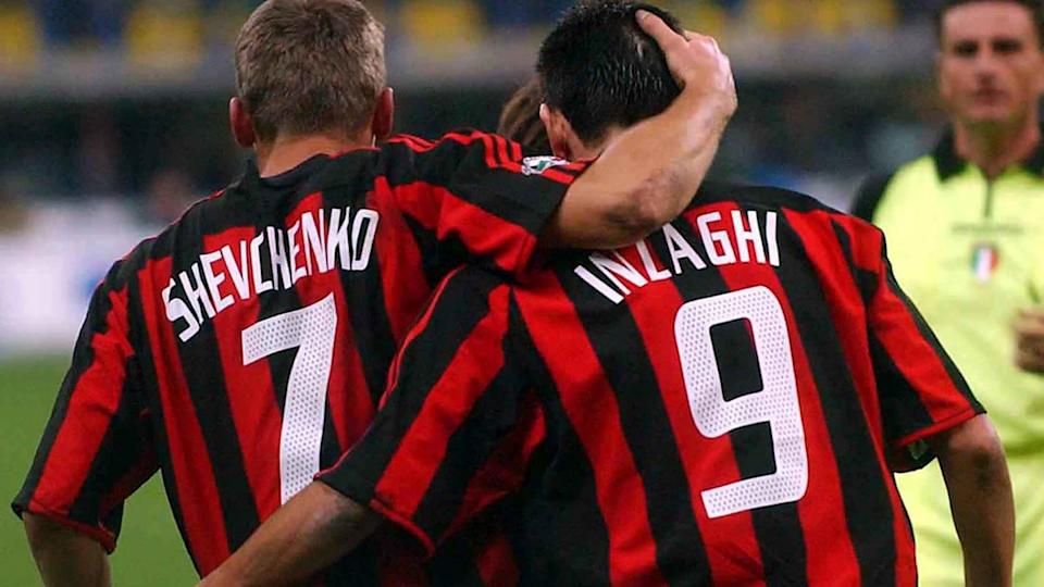 Andriy Shevchenko e Filippo Inzaghi | Getty Images/Getty Images