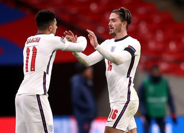 Jadon Sancho and Jack Grealish did not feature in England's opener against Croatia