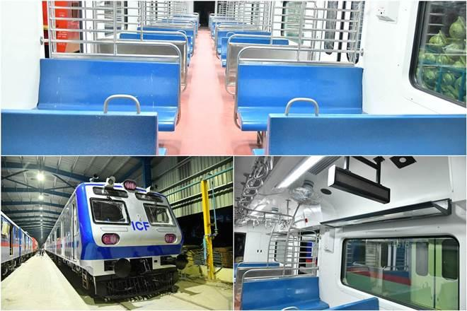 Eight new Mumbai AC local trains coming