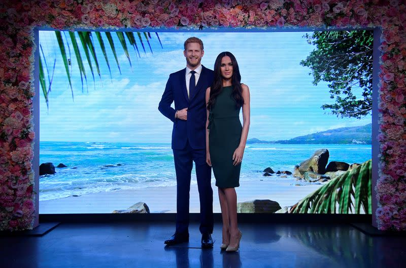 Madame Tussauds removes waxworks of Harry and Meghan from royal family display