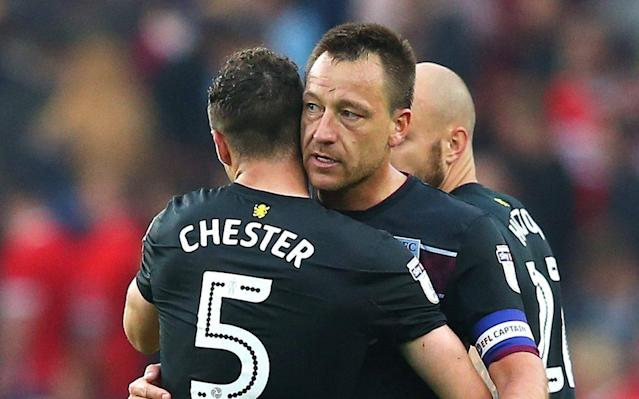 Steve Bruce sings John Terry's praises for helping turn round Aston Villa's 'toxic' dressing room culture