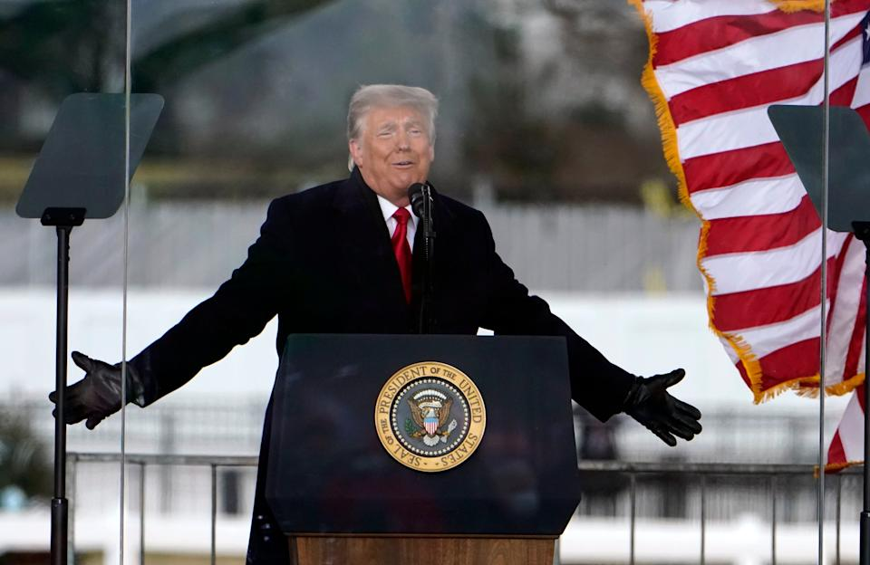 <p>Donald Trump reportedly went 'ballistic' following Twitter ban</p> (Copyright 2020 Jacquelyn Martin. All rights reserved.)