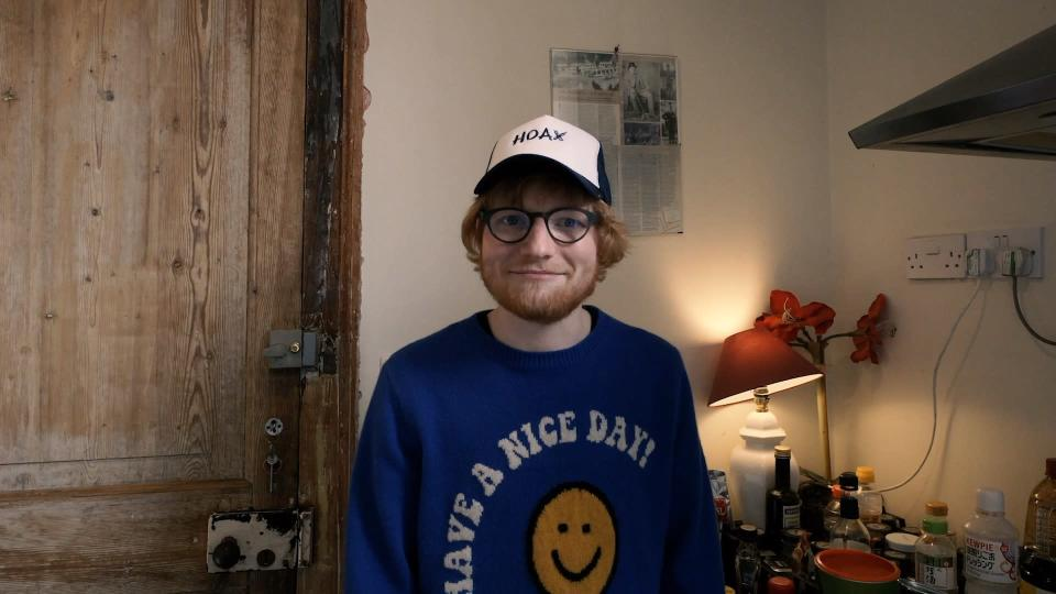"Ed Sheeran said that the Cancer Campaign in Suffolk, which the raffle is raising funds for, is a ""really fantastic cause"". (CCiS/ PA)"