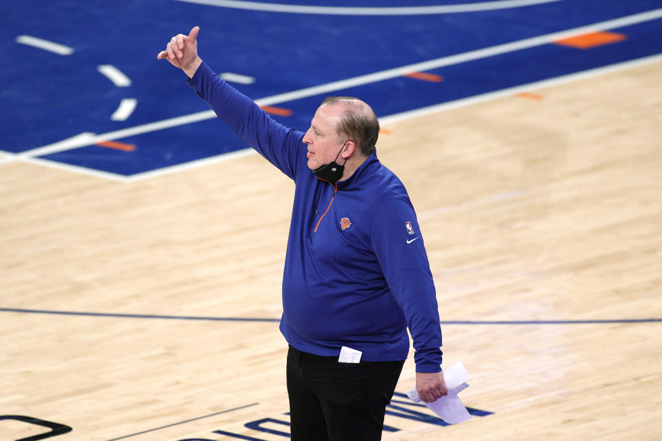Tom Thibodeau's New York Knicks are a revelation. (Sarah Stier/Getty Images)