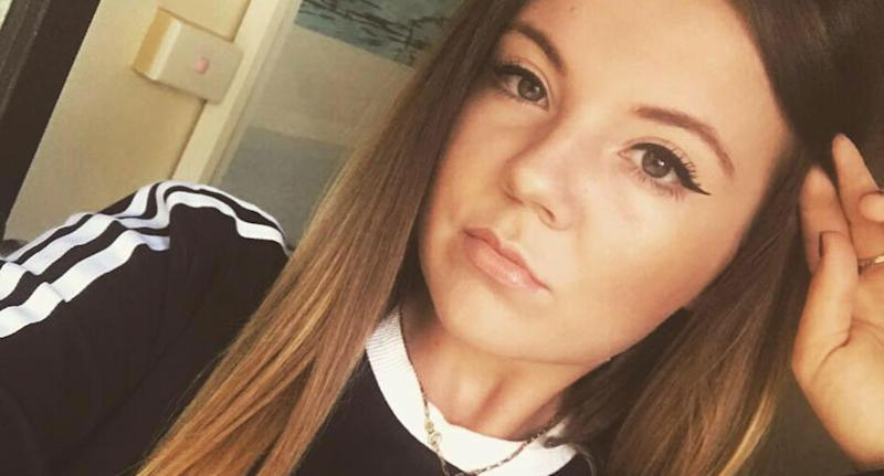 Pictured is Helen Kingwell, 23.