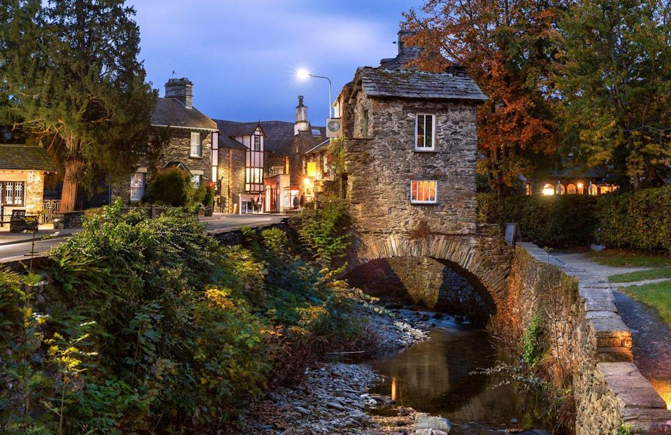 """<p><strong>Walking distance: </strong>5.8 miles</p><p>Just a mile inland from Windermere, you'll find Ambleside - a bustling town that's well catered for tourists with its shops and restaurants. It also makes a great starting point for many classic walks as it's nestled between a number of fells. This walk will take you through woods and fields to find epic views over surrounding fells from Wansfell Pike. See the walk details at <a href=""""https://go.redirectingat.com?id=127X1599956&url=https%3A%2F%2Fwww.nationaltrust.org.uk%2Ftownend%2Ftrails%2Fambleside-to-troutbeck-and-back-via-wansfell&sref=https%3A%2F%2Fwww.goodhousekeeping.com%2Fuk%2Flifestyle%2Ftravel%2Fg34597843%2Flake-district-walks%2F"""" rel=""""nofollow noopener"""" target=""""_blank"""" data-ylk=""""slk:nationaltrust.org.uk"""" class=""""link rapid-noclick-resp"""">nationaltrust.org.uk</a>.</p><p><strong>Where to stay:</strong> Check into <a href=""""https://go.redirectingat.com?id=127X1599956&url=https%3A%2F%2Fwww.booking.com%2Fhotel%2Fgb%2Fwaterhead.en-gb.html%3Faid%3D1922306%26label%3Dlake-district-walks&sref=https%3A%2F%2Fwww.goodhousekeeping.com%2Fuk%2Flifestyle%2Ftravel%2Fg34597843%2Flake-district-walks%2F"""" rel=""""nofollow noopener"""" target=""""_blank"""" data-ylk=""""slk:The Waterhead"""" class=""""link rapid-noclick-resp"""">The Waterhead</a>, a smart boutique hotel on the shores of Lake Windermere. It's a modern, family and dog-friendly spot, just a 10-minute walk from Ambleside. Afternoon tea at the hotel upon your return is the perfect way to end your ramble.</p><p><a href=""""https://www.goodhousekeepingholidays.com/offers/lake-district-ambleside-waterhead-hotel"""" rel=""""nofollow noopener"""" target=""""_blank"""" data-ylk=""""slk:Read our review of The Waterhead"""" class=""""link rapid-noclick-resp"""">Read our review of The Waterhead</a></p><p><a class=""""link rapid-noclick-resp"""" href=""""https://go.redirectingat.com?id=127X1599956&url=https%3A%2F%2Fwww.booking.com%2Fhotel%2Fgb%2Fwaterhead.en-gb.html%3Faid%3D1922306%26label%3Dlake-district-walks&sref=https%3A%2F%2Fwww.goo"""