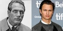 <p>Both Paul Newman and Ansel Elgort have worked on an impressive number of films, and both actors share the same full lips and jawline that gives them their movie star looks.</p>