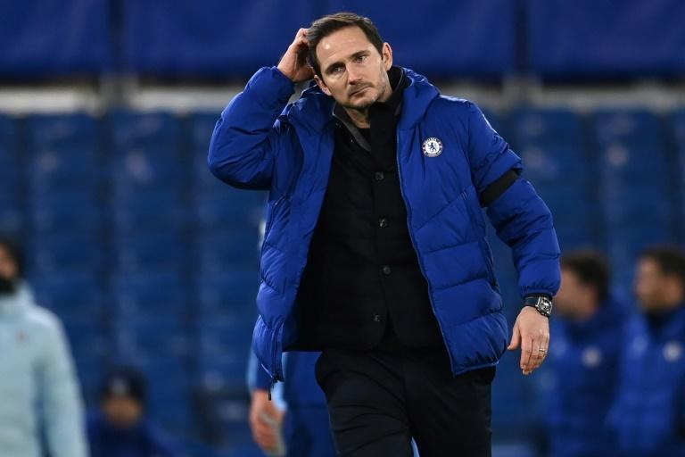 Chelsea manager Frank Lampard's job is under threat due to a run of four defeats in six games