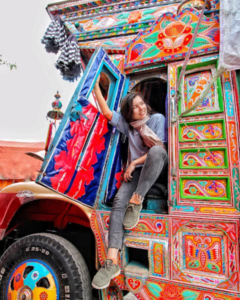 Blogger Eva zu Beck believes Pakistan has huge tourism potential (AFP Photo/HANDOUT)