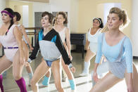 """<p><strong>The 1-Sentence Pitch:</strong> """"It's a Cinderella story with body slams,"""" says Carly Mensch, who co-created Netflix '80s throwback alongside fellow <em>Orange Is the New Black </em>scribe Liz Flahive.<br><br><strong>What to Expect:</strong> With her professional and personal prospects looking dim, down-and-out actress Ruth Wilder (Alison Brie) joins the motley crew of women assembled by a producer to star in the <em>Gorgeous Ladies of Wrestling</em> (aka GLOW). While it's based on the real-life wrestling show (which aired from 1986 to 1992), the creators say the title is the only part of their series that's <em>not</em> fictionalized. """"The only thing we have the rights to is the name,"""" Flahive explains. That means Ruth and the gorgeous ladies surrounding her are entirely fictionalized, as is the show's mastermind, failed schlock filmmaker, Sam Sylvia played by comedian and podcaster, Marc Maron.<br><br><strong>Small Wonder:</strong> While she's a pretty decent person out of the ring, Sam decides that Ruth is precisely the kind of hissable villain that GLOW needs. """"You get to see a bit of my dark side,"""" teases Brie, who spent six seasons as <em>Community</em>'s resident good girl, Annie Edison. """"A lot of Ruth's tactics have to do with size. I'm kind of petite, so a lot of her strategy is making herself taller than her opponents and then jumping up on the ropes. I also learned I'm good at getting thrown, and good at getting body slammed, which I think is a fun skill."""" <em>— EA</em><br><br>(Photo: Erica Parise/Netflix) </p>"""