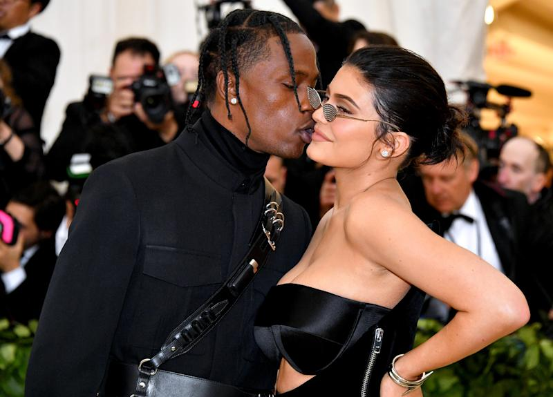 Kylie Jenner is back! The 20-year-old reality star and her boyfriend Travis