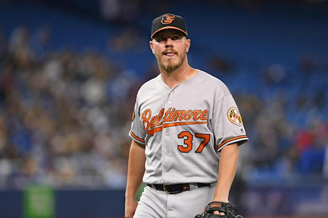 The Los Angeles Angels are hoping they can turn around Dylan Bundy. (Gerry Angus/Icon Sportswire via Getty Images)