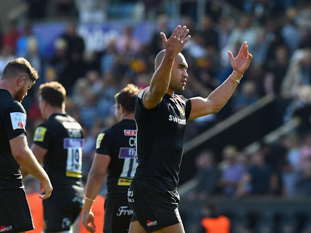 Exeter Chiefs through to Premiership final after easing past Newcastle Falcons