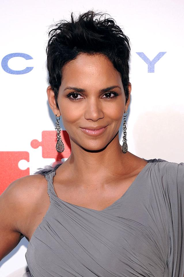 "Although Oscar winner Halle Berry is undeniably gorgeous with tresses of any length, her current cropped cut is H-O-T. Dimitrios Kambouris/<a href=""http://www.wireimage.com"" target=""new"">WireImage.com</a> - April 29, 2010"