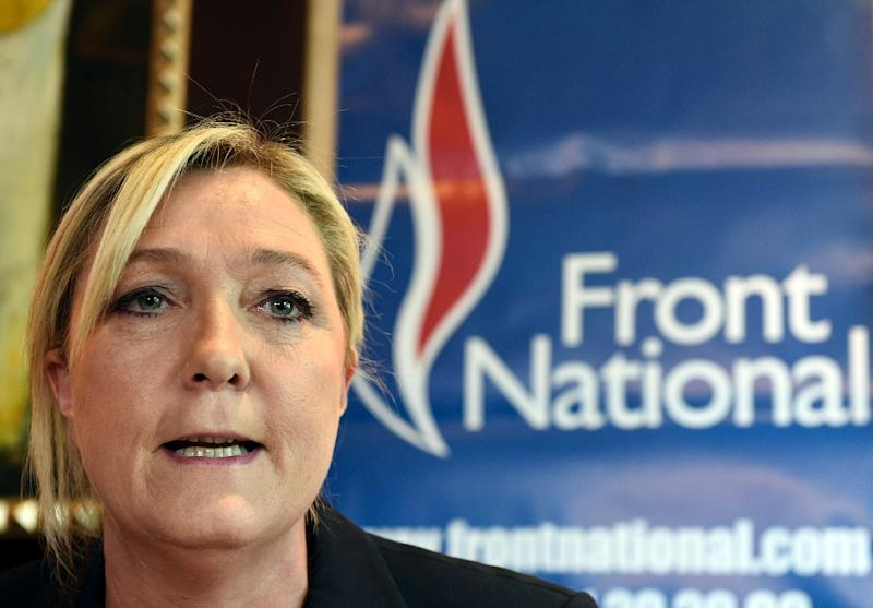 Marine Le Pen has led the French far-right National Front party since 2011 (AFP Photo/Loic Venance)