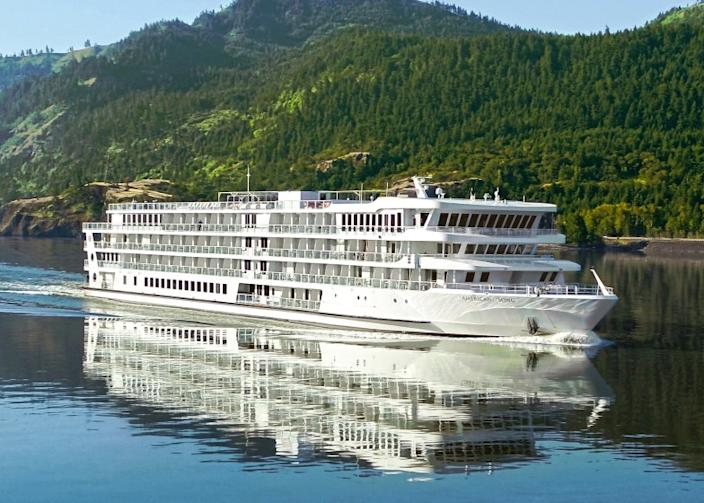 The American Song is scheduled to cruise the Columbia and Snake rivers in late June.