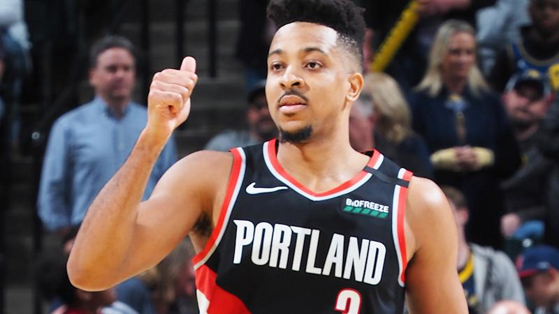 Portland Trailblazers guard CJ McCollum has announced he will no longer sign autographs for fans until the coronavirus crisis is brought under control. (Photo by Ron Hoskins/NBAE via Getty Images)